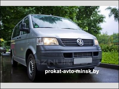 Прокат минивэна VOLKSWAGEN T5 Caravelle в Минске без водителя