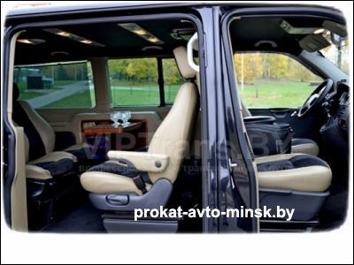 Аренда минивэна VOLKSWAGEN T5 Multivan в Минске с водителем