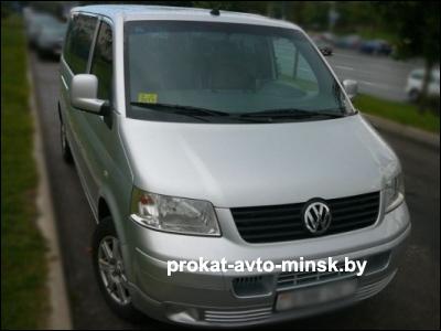 Прокат микроавтобуса VOLKSWAGEN T5 в Минске без водителя