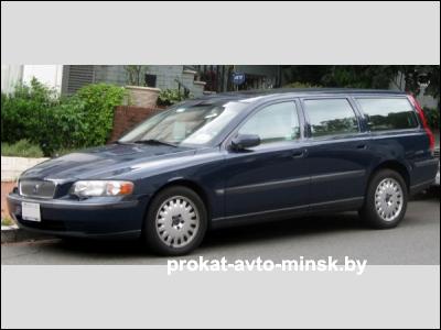 Аренда универсала VOLVO V70 в Минске с водителем