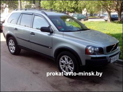 Прокат внедорожника VOLVO XC90 в Минске без водителя
