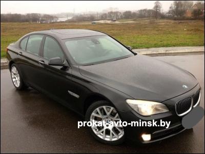 Прокат седана BMW 7-reihe (F01) в Минске без водителя