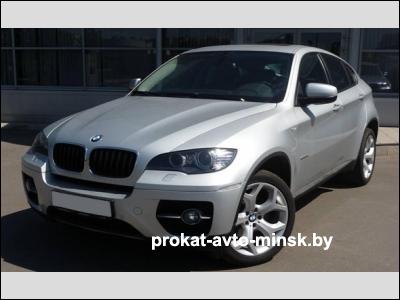 Аренда внедорожника BMW X6 в Минске с водителем