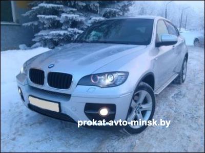 Прокат внедорожника BMW X6 в Минске без водителя