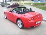 Прокат кабриолета BMW Z4 в Минске без водителя