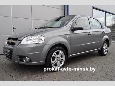 Прокат седана CHEVROLET Aveo в Минске без водителя