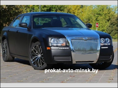 Прокат седана CHRYSLER 300 в Минске без водителя