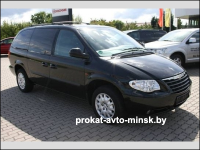 Аренда минивэна CHRYSLER Grand Voyager в Минске с водителем