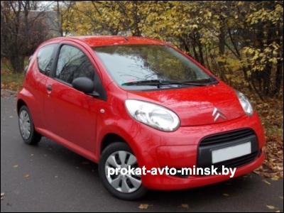 Прокат хетчбэка CITROEN C1 в Минске без водителя