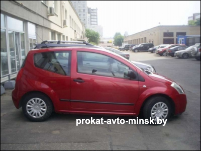Прокат хетчбэка CITROEN C2 в Минске без водителя
