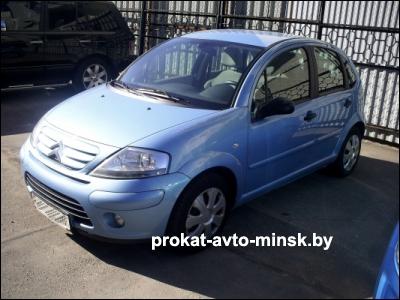 Прокат хетчбэка CITROEN C3 в Минске без водителя